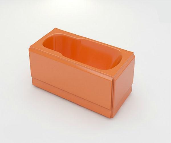 Ванна акриловая ARTEL PLAST Роксана (150) оранжевая
