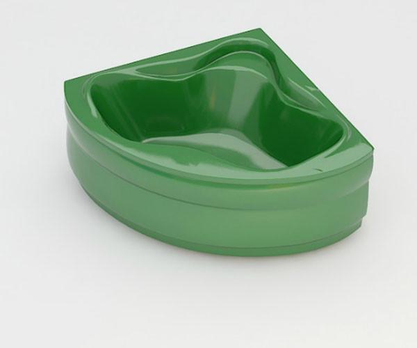 Ванна акриловая ARTEL PLAST  Станислава (150) зеленая
