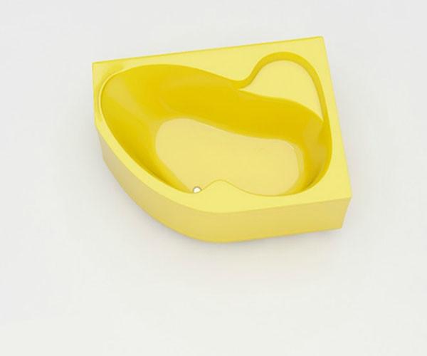 Ванна акриловая ARTEL PLAST Валерия (160) желтая