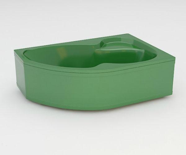 Ванна акриловая ARTEL PLAST Валерия (160) зеленая