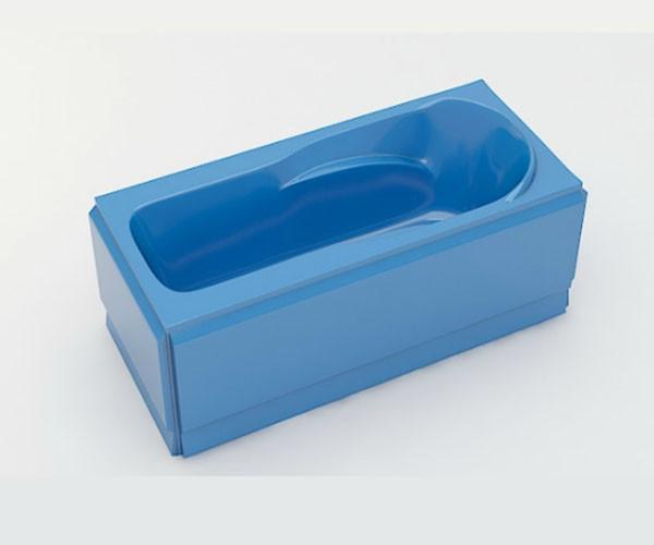 Ванна акриловая ARTEL PLAST Устина (140) голубая