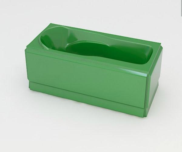 Ванна акриловая ARTEL PLAST Устина (140) зеленая