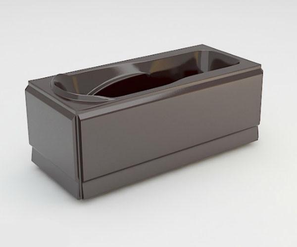Ванна акриловая ARTEL PLAST Устина (140) коричневая
