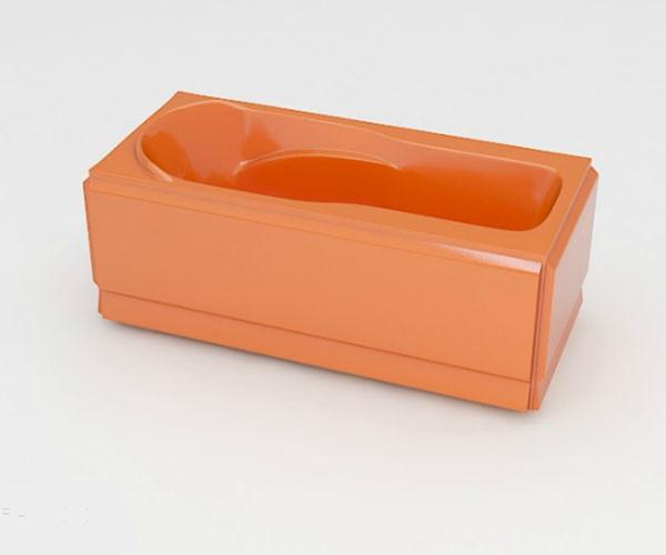 Ванна акриловая ARTEL PLAST Устина (140) оранжевая