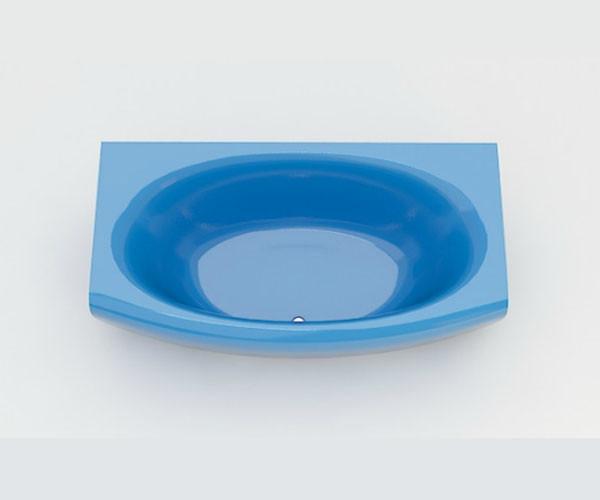 Ванна акриловая ARTEL PLAST Эльмира (180) голубая