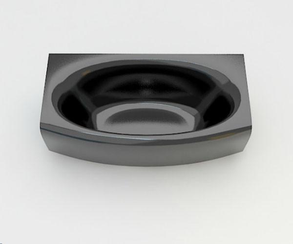 Ванна акриловая ARTEL PLAST Эльмира (180) черная