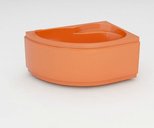 Ванна акриловая ARTEL PLAST Ярослава (150) оранжевая