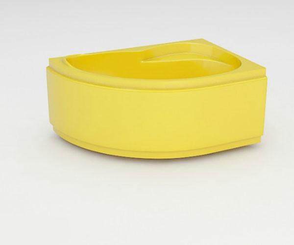 Ванна акриловая ARTEL PLAST Стелла (170) желтая