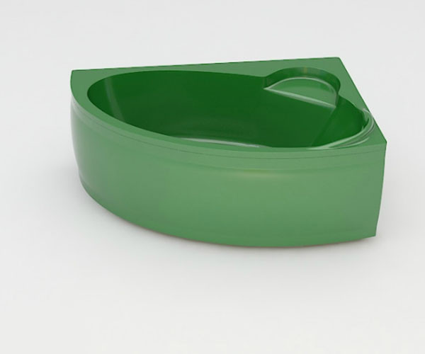 Ванна акриловая ARTEL PLAST Стелла (170) зеленая