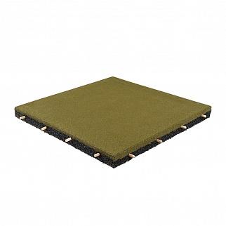 Резиновая плитка 500×500, 35 мм
