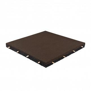 Резиновая плитка 500×500, 40 мм