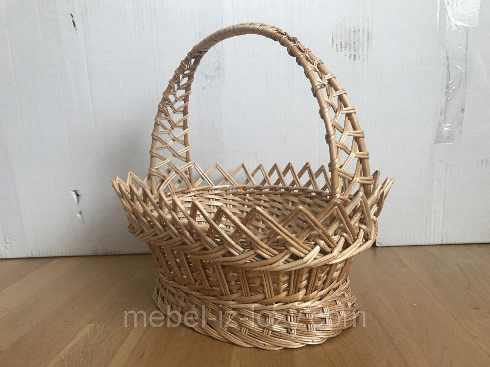 Купить Корзина плетеная для пасхи 030-17