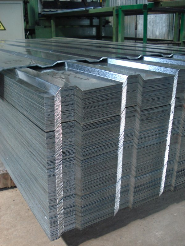 S-12 professional flooring galvanized