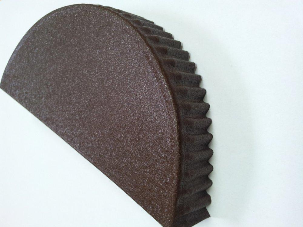 Flat cap for the semicircular fad of Strimeks
