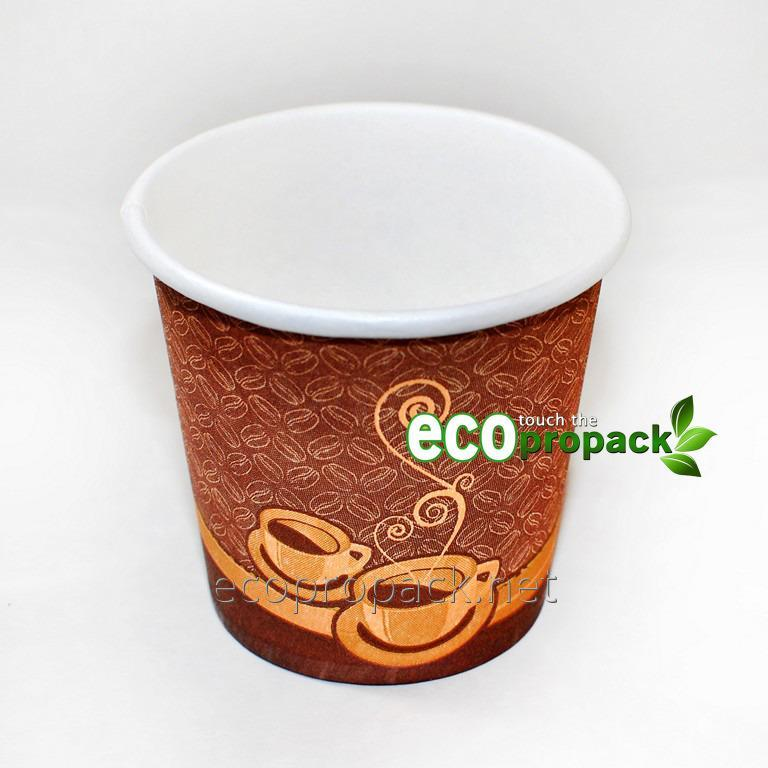 Paper cup for ml coffee 110 two cups