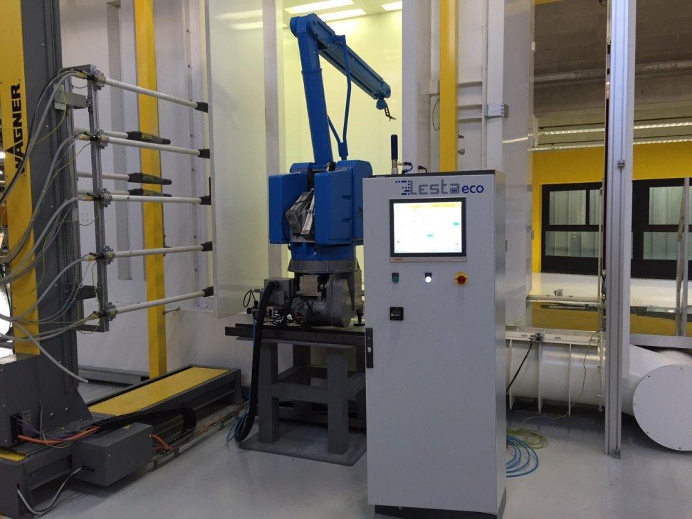 Купить Покрасочный роботизированный комплекс Lesta LeBot R500 A5 Б/У