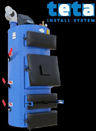 Котел твердотопливный Идмар СIС 65 кВт, 3 бар, ручная подача топлива