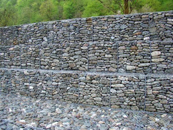 Габионы матрацы укрепление берегов склонов ландшафта подпорные стены