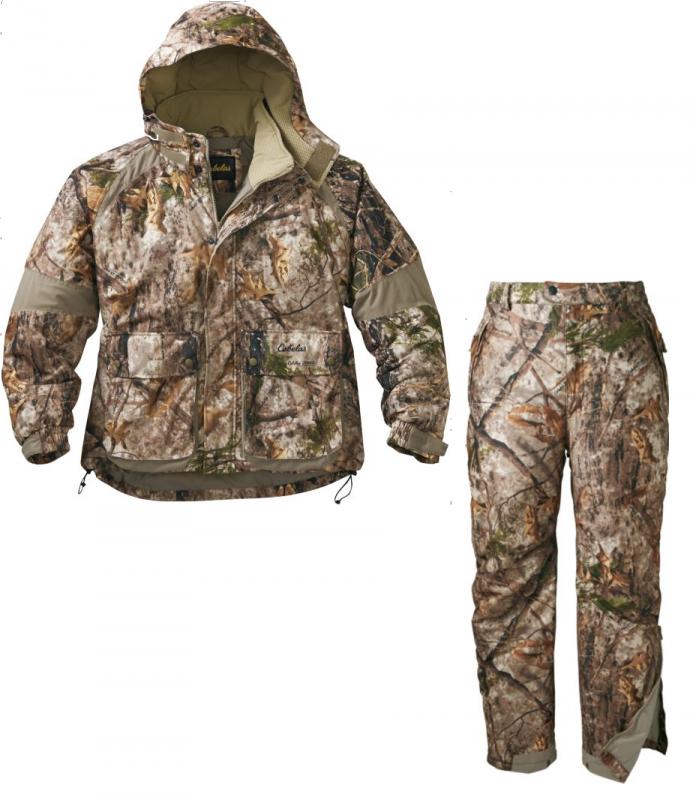 Костюм для охоты теплый Cabela's 10-Point™ Jacket & pant with 4MOST DRY-PLUS®
