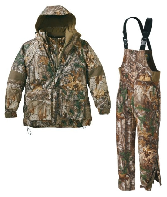 Костюм для охоты теплый Cabela's 10-Point 4-in-1 Parka & Bibs with 4MOST DRY-PLUS®