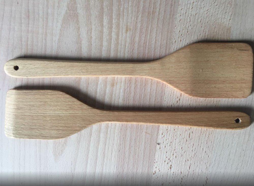 Деревянная кухонная лопатка из бука