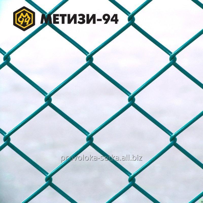 Сітка плетена рабиця з ПВХ покриттям 25х25х2,5 мм