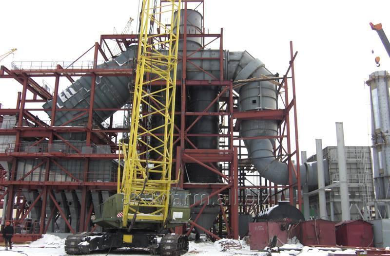 ТЭЦ  7 МВт (Котельное промышленное оборудование)