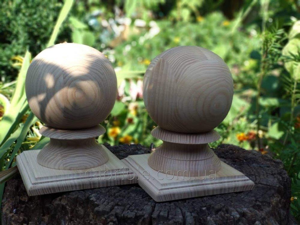 Парапет, накладка на столб под шар