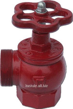 Кран (вентиль) пожарный угловой ДУ65
