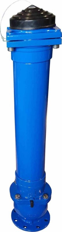 Подземный пожарный гидрант JAFAR 8853 DN 100/125 Н=4750 мм. PN 16 (DUO ГОСТ)