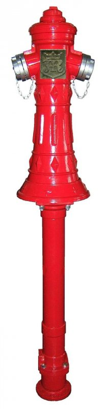 Наземный пожарный гидрант JAFAR 8007 DN 80/100 RD=1500 мм. PN 16 (RETRO)