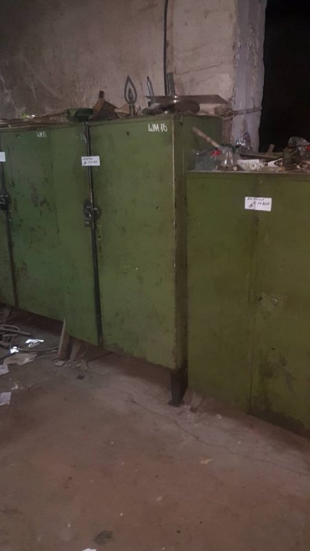 Шкафы металлическием для цеха