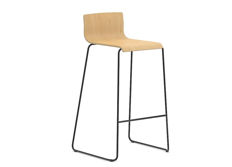 Высокий стул MOON (wood)