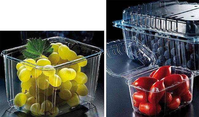 Упаковка для овощей, фруктов, ягод, грибов