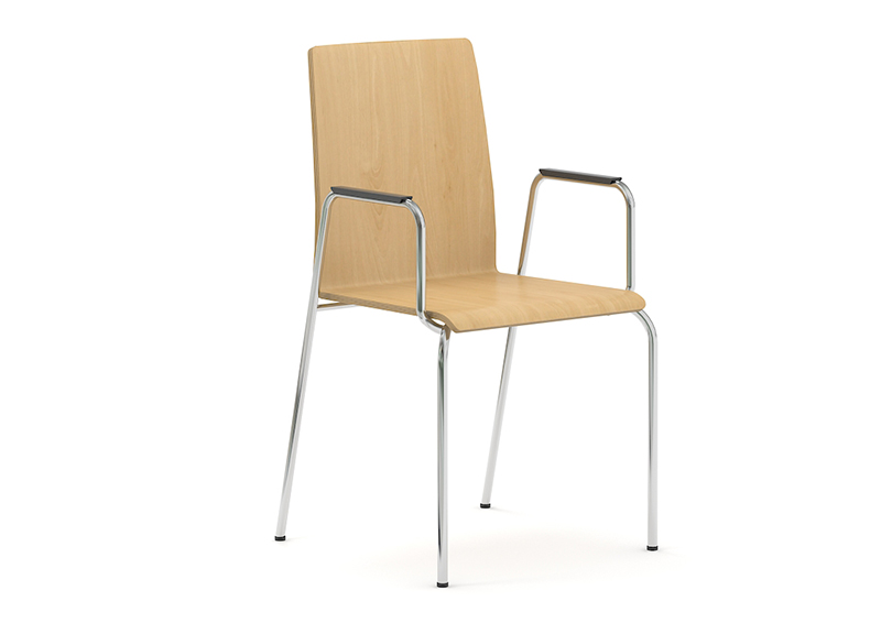 Офисное кресло MOON (wood)