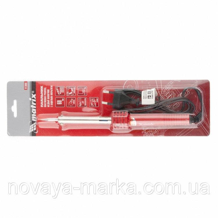 Buy Soldering iron, plastikov handle, m_dny nak_nechnik z dovgostr. zakhisny pokrittyam, 220 V, 60W//MTX 9130069