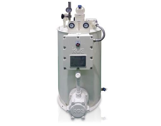 Buy The evaporator electric and dry 30 kg/h - KGE the KDV-30 model, the evaporator for propane-butane, vaporizing installation