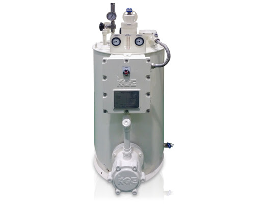 Buy The evaporator electric - dry 100 kg/h - KGE the KDV-100 model, the evaporator for propane-butane, vaporizing installation