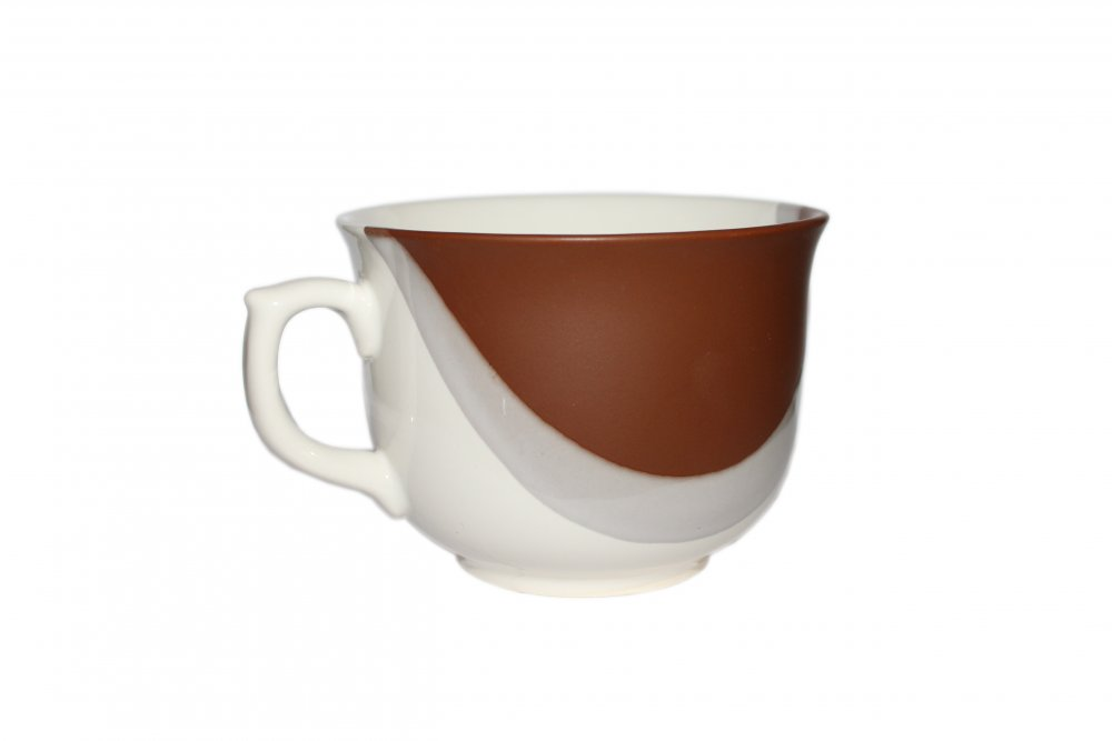Appetitk's cup drop white and terracotta