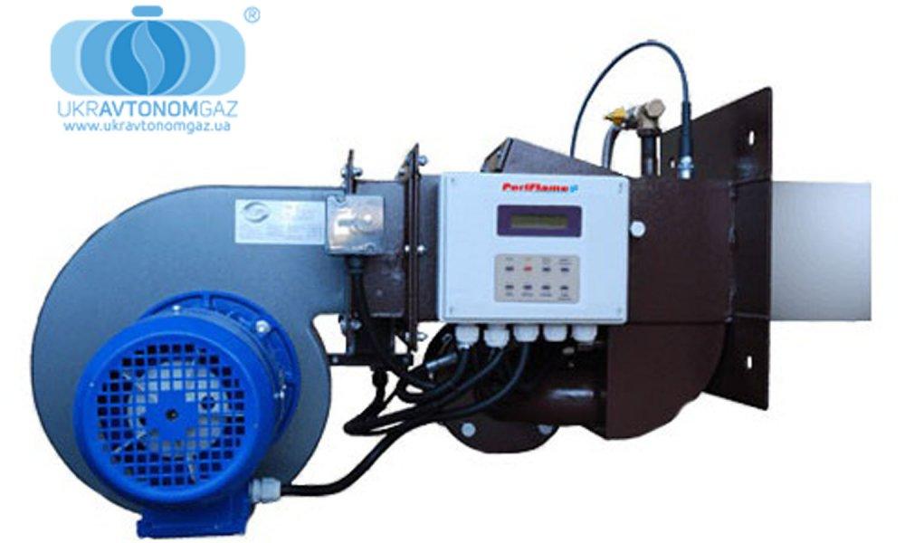 Горелка газовая блочная МДГГ–315 БА, 3150 кВт, аварийно-резервное газоснабжение. пропан-бутан