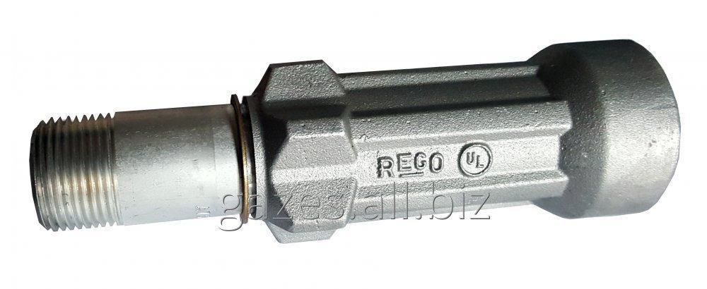 Удлиненная струбцина 7575L4 для полуприцепов-газовозов, слива пропан-бутана, налива АГЗС, СУГ, LPG, сжиженного газа, кран  для автоцистерн