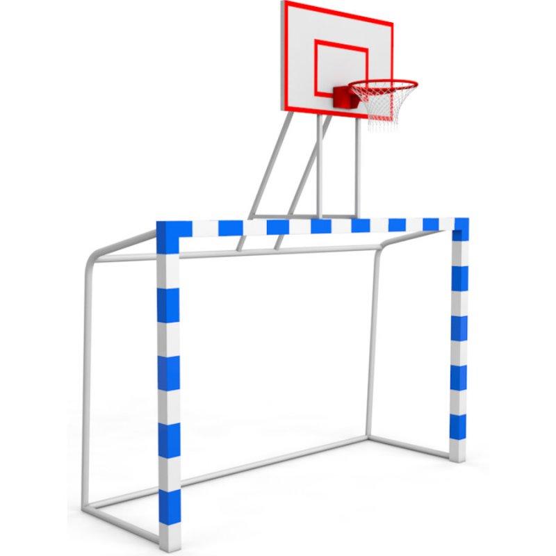 Баскетбольная стойка с воротами щит фанера влагостойкая