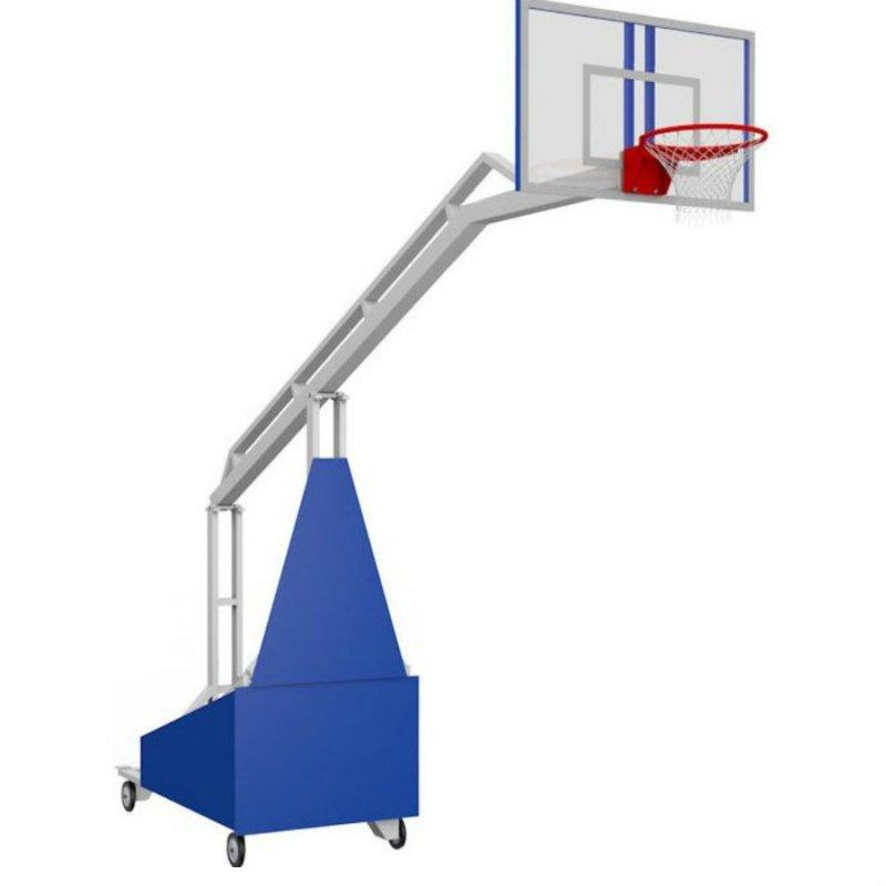 Стойка баскетбольная мобильная складная  Вынос 1,6 м
