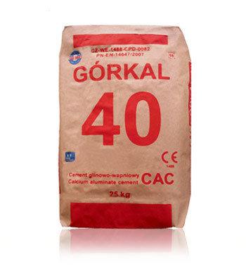Zement feuerfest Gorkal-40