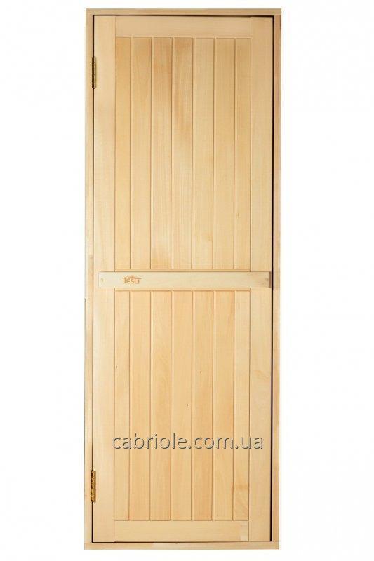 Дверь для бани деревянная
