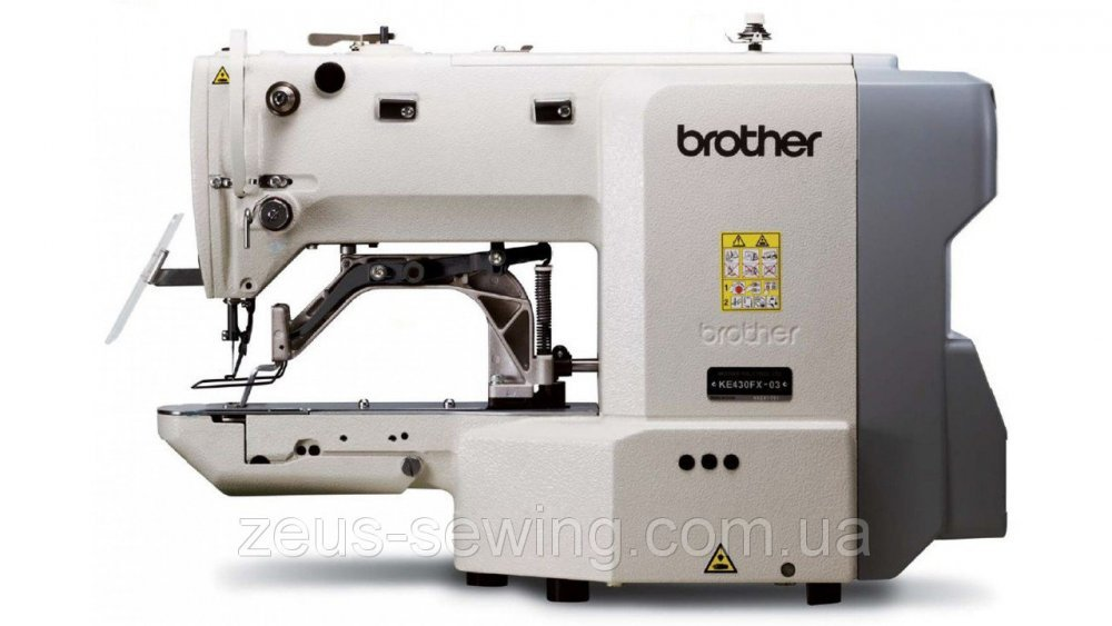 Buy Brother KE-430FX-03-05-0K-0F the electronically controlled zakrepochny car of a shuttle stitch with the direct drive