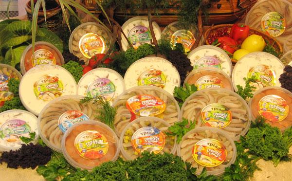 Купить Пресервы рыбные, купить от производителя Украина. Пресервы Кальмар, Красная рыба, Матье, Пресервы в маринаде