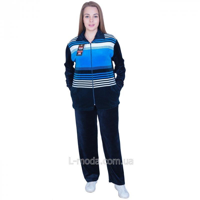 Спортивный костюм женский велюровый XXXL, арт. 4328