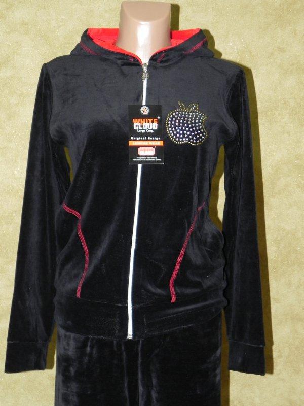 Спортивный костюм женский велюровый, арт. 5297