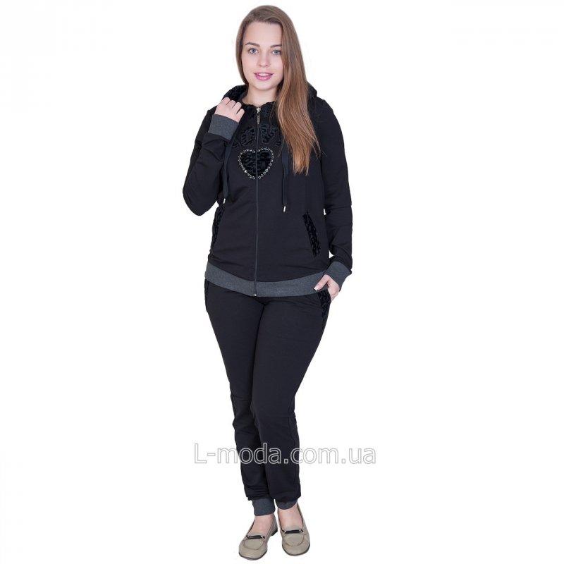 Спортивный костюм женский трикотаж 46, арт. 5875